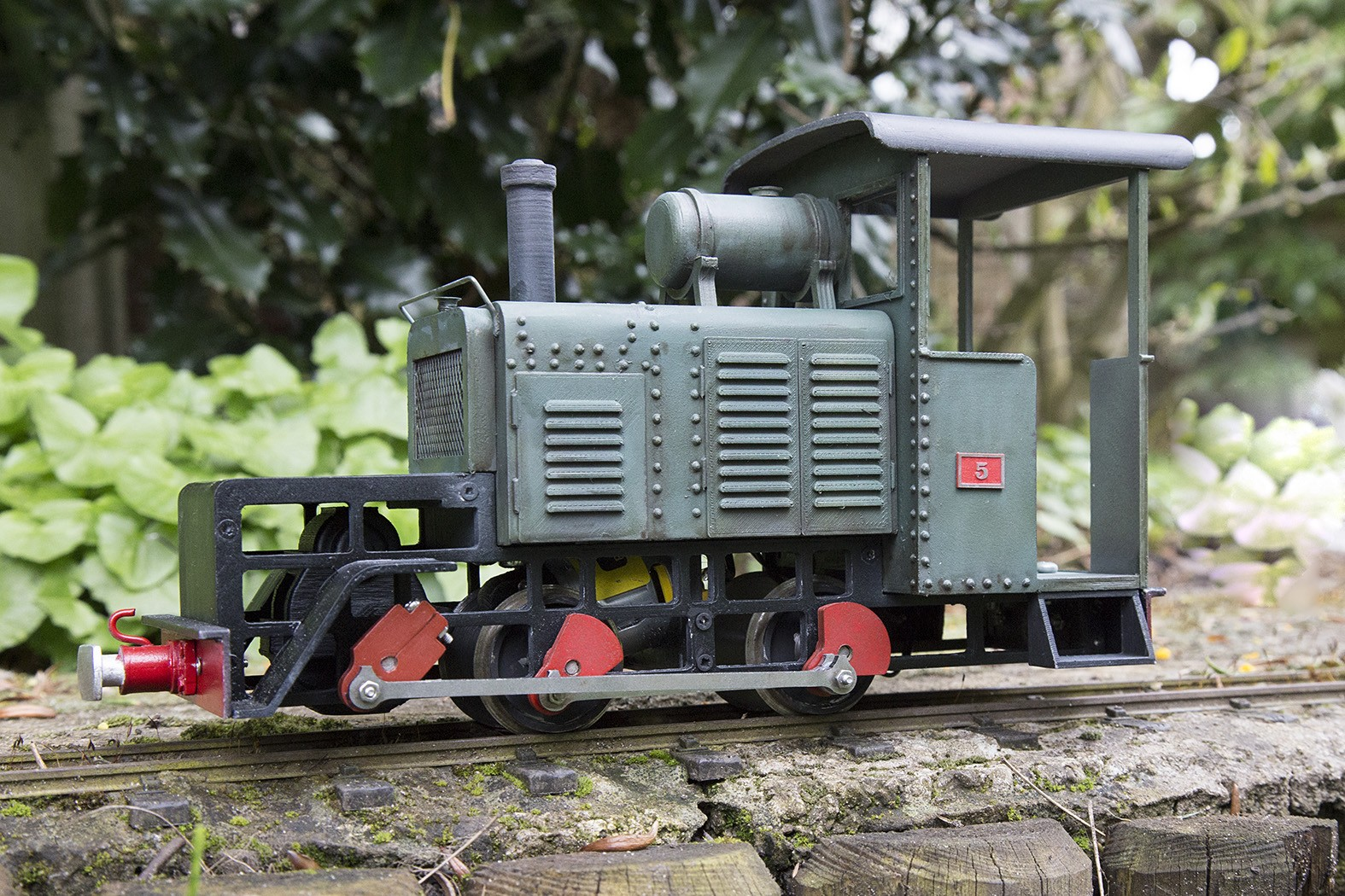 Built from a PDF Model's kit with radio controlled, this battery operated WW1 diesel is named after my wife's uncle, Talfryn Thomas, an actor who played Private Cheeseman, the war correspondent, in Dad's Army